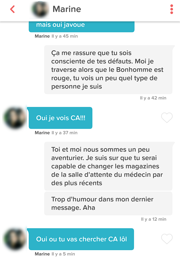 Exemple de description site de rencontre